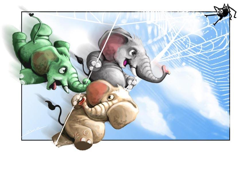 Un elefante se balanceaba...